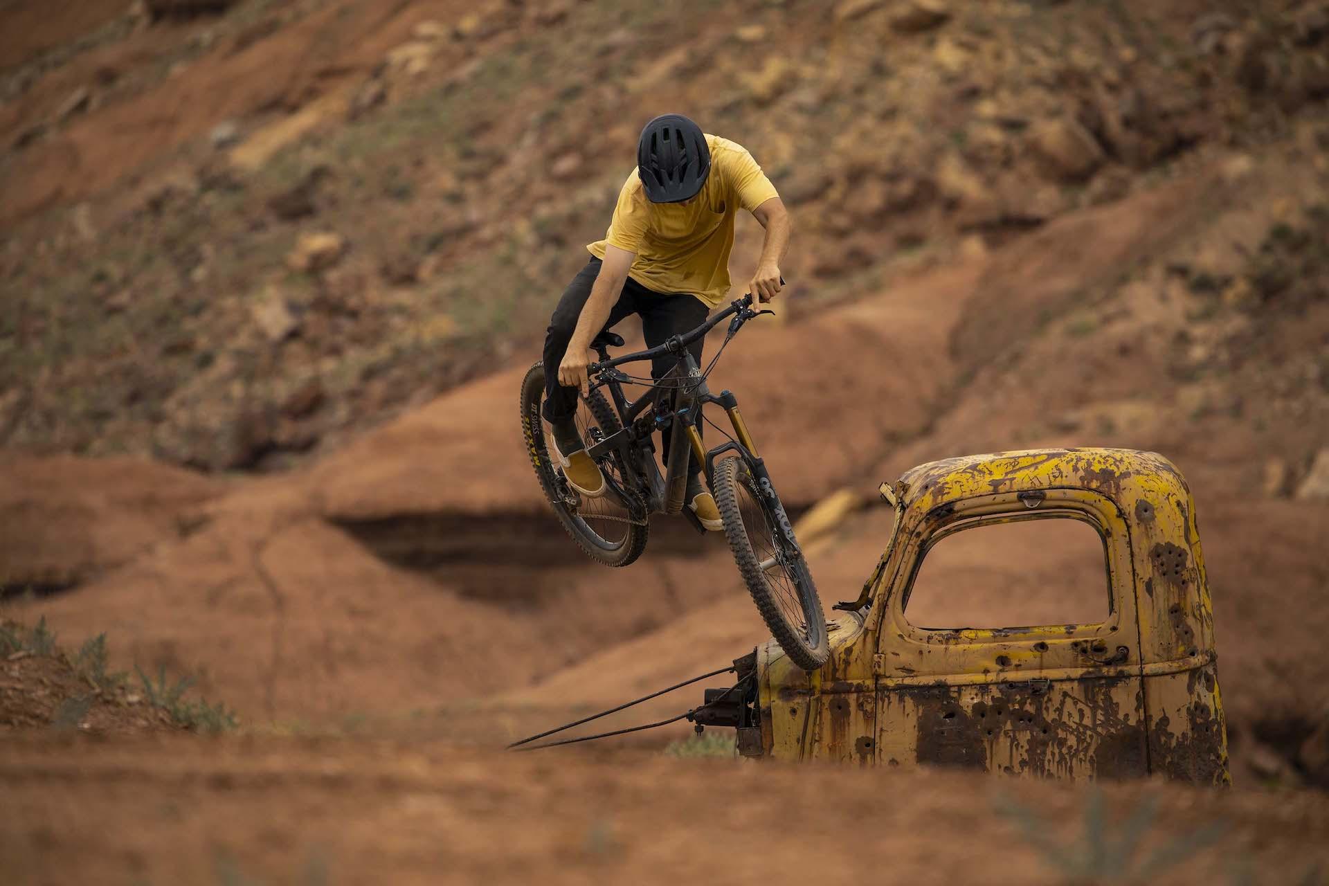 bike park bike yeti sb140